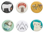 Buttons - Land & Sea <br> Set of 48 Assorted