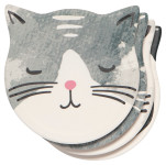 Cats Meow Soak Up Coaster Set of 4
