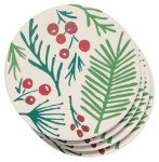 Bough & Berry Soak Up Coaster Set of 4