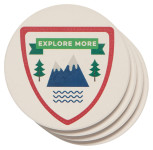 Explore More Soak Up Coaster Set of 4