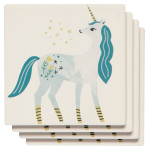 Unicorn Soak Up Coaster Set of 4