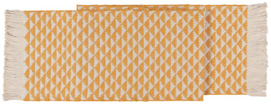 Ochre Heirloom Everett 72 in Table Runner