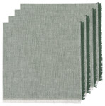 Jade Heirloom Chambray Napkins Set of 4