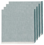 Lagoon Heirloom Chambray Napkins Set of 4