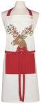 Dasher Deer Spruce Apron
