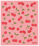 Cherries Ecologie Swedish Sponge Towel