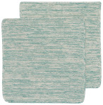 Lagoon Heirloom Knit Dishcloths Set of 2