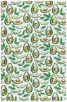 Avocados Printed Dishtowel
