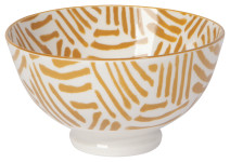 Ochre Lines 4 in Bowl