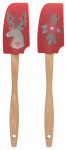 Dasher Deer Mini Spatulas Set of 2