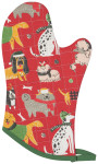 Yule Dogs Oven Mitt