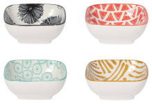 Mix & Prep Square Pinch Bowls Set of 4