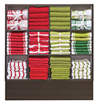 Display Teatowel - 12 pocket