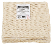 Natural Homespun Crochet Dishcloths <br> Set of 2