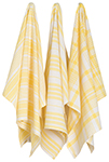 Lemon Jumbo Dishtowels <br> Set of 3