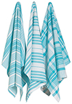Bali Jumbo Dishtowels <br> Set of 3