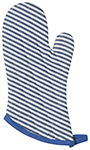Royal Narrow Stripe Royal Superior Oven Mitt