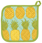 Pineapples Potholder