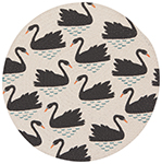 Swan Lake Braided Placemat