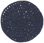 Knotted Placemat Navy