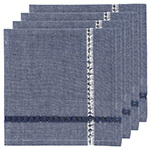 Tangier Blue Napkins <br> Set of 4