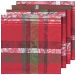 Festive Forest Jacquard Napkins <br> Set of 4