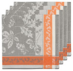 Fall Flicker Jacquard Napkins <br> Set of 4