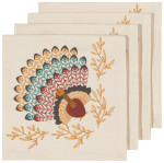 Tommy Turkey Napkins <br> Set of 4