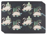 Swan Lake Cork-Backed Placemats <br> Set of 4