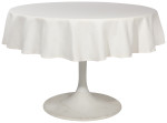 Ivory Renew Tablecloth <br> 60 inch round