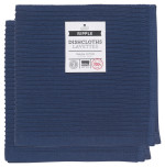 Indigo Ripple Dishcloth <br> Set of 2