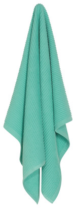 Lucite Green Ripple Dishtowel