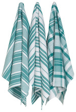 Peacock Jumbo Dishtowels <br> Set of 3