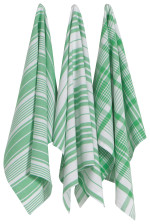 Greenbriar Jumbo Dishtowels <br> Set of 3