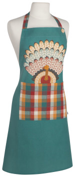 Tommy Turkey Spruce Apron