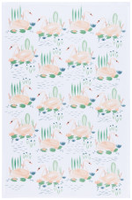Swan Lake Dishtowel