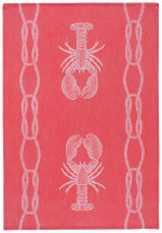 Lobster Catch Jacquard Dishtowel