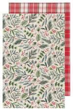 Bough & Berry Dishtowels <br> Set of 2