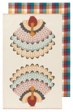 Tommy Turkey Dishtowels <br> Set of 2