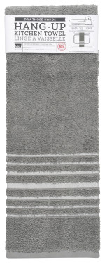 London Gray Hang-Up Towel Teatowel