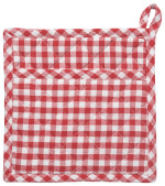 Gingham Potholder