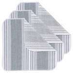 London Gray Scrub-It Dishcloths <br> Set of 3