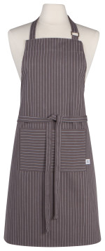 Granite Pinstripe Chef Apron