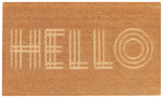 Hello Impression Doormat