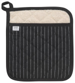Pinstripe Black Superior Potholder
