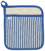 Narrow Stripe Blue Superior Potholder
