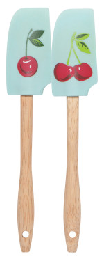 Cherries Mini Spatulas <br> Set of 2