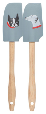 Dog Days Mini Spatulas <br> Set of 2