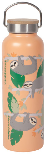 Sloths Roam Water Bottle