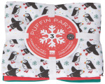 Puffin Party Floursack Dishtowels <br> Set of 3